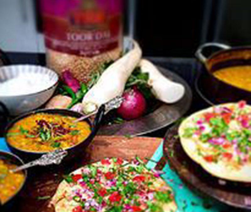 Anjula Devi   Authentic Indian Recipes   Healthy Indian Cuisine   Khatti Daal