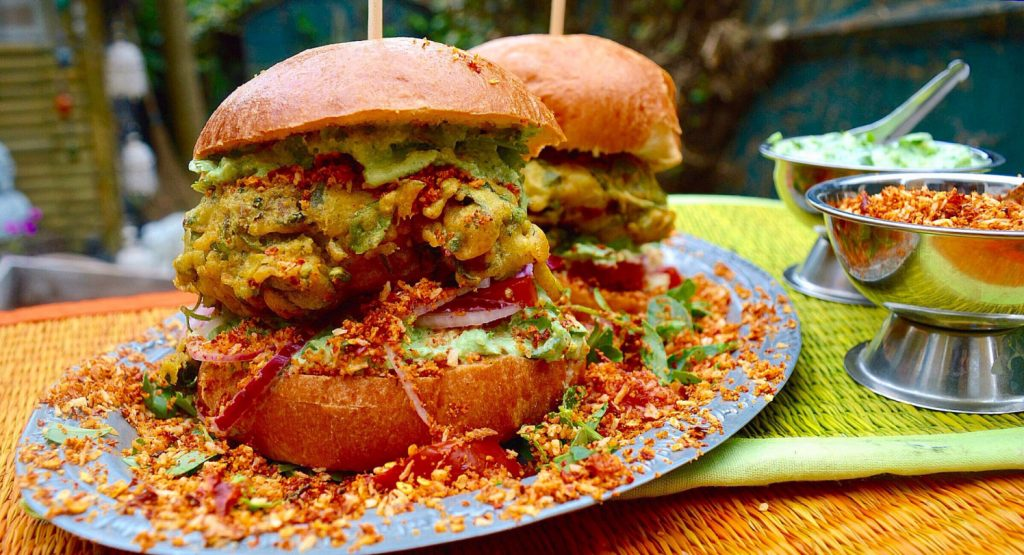 Anjula Devi | Authentic Indian Recipes | Healthy Indian Cuisine | Vada Pav